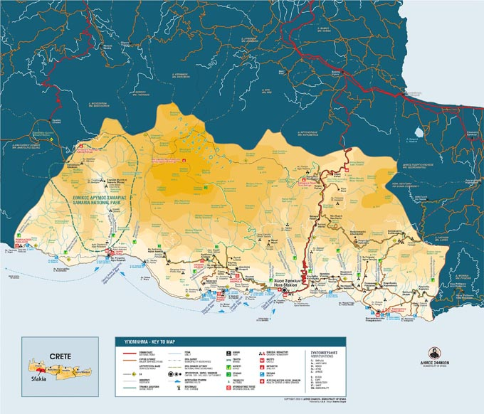 map of Sfakia small
